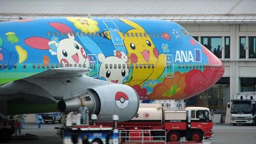Avión Aerolínea ANA Pokémon Pikachu 9