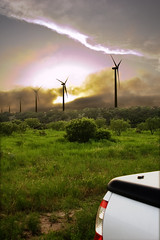 Stopping to Watch the Wind Blow (Chiceaux) Tags: texas nolan country workinprogress surreal hdr windturbine chiceaux xceaux