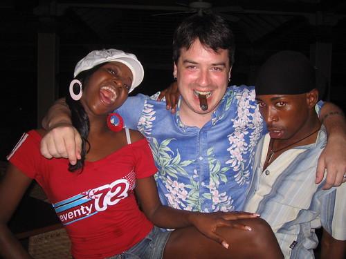 Suzanie, Brian, and Ricardo