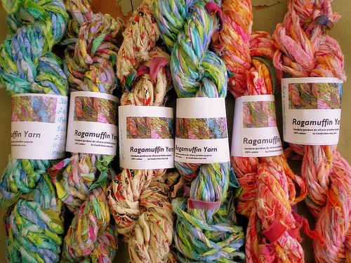 Ragamuffin Skeins with Labels