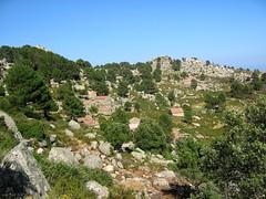 Bitalza : le hameau de bergeries depuis le NW