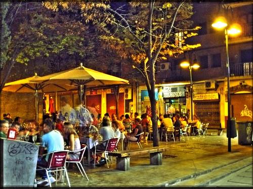 Zaragoza de Noche Foto 3