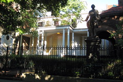 NYC - Hamilton Grange National Monument (wallyg) Tags: nyc newyorkcity sculpture house ny newyork home statue nhl memorial nps manhattan landmark gothamist americanrevolution nationalparkservice foundingfathers alexanderhamilton foundingfather nationalmemorial nationalhistoriclandmark nationalregisterofhistoricplaces hamiltongrange usnationalhistoriclandmark hamiltonhouse nrhp federalstyle revolutionarywarhero usnationalregisterofhistoricplaces nmem johnmccombjr newyorkcitylandmarkspreservationcommission nyclpc signerofthedeclarationofindependence hamiltongrangenationalmemorial alexanderhamiltonhouse usnationalmemorials