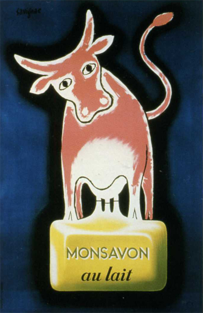 La vache Monsavon