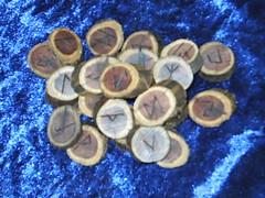 Cedar Runes (dragonoak) Tags: cedar elder runes futhark
