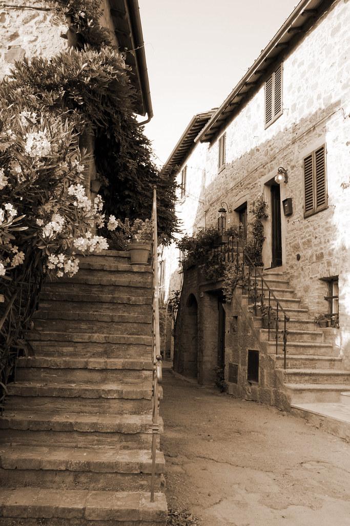 Tuscan Stairways 2