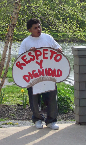 "La Marcha II: ""Respect and dignity"""