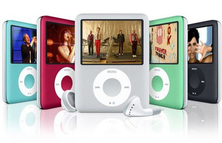 Apple iPod nano 8GB シルバー