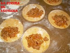 Empanadillas con rell.carne
