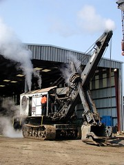 Bucyrus Erie Steam Shovel (judi berdis) Tags: nca willits mendocinocounty rootsofmotivepowersteamup