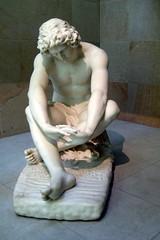 Paris - Musée d'Orsay: Jean-Joseph Perraud's Le Désespoir (wallyg) Tags: sculpture paris france art statue museum europe musée despair orsay museedorsay dorsay muséedorsay orsaymuseum ledésespoir ledesespoir jeanjosephperraud