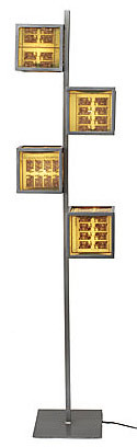 CIRCUIT BOARD FLOOR LAMP | UncommonGoods :  lamp modern living room functional art