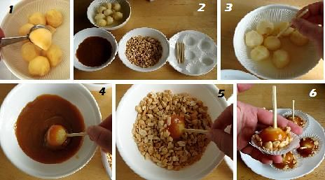 Caramel Apple Tutorial by Sakurako Kitsa