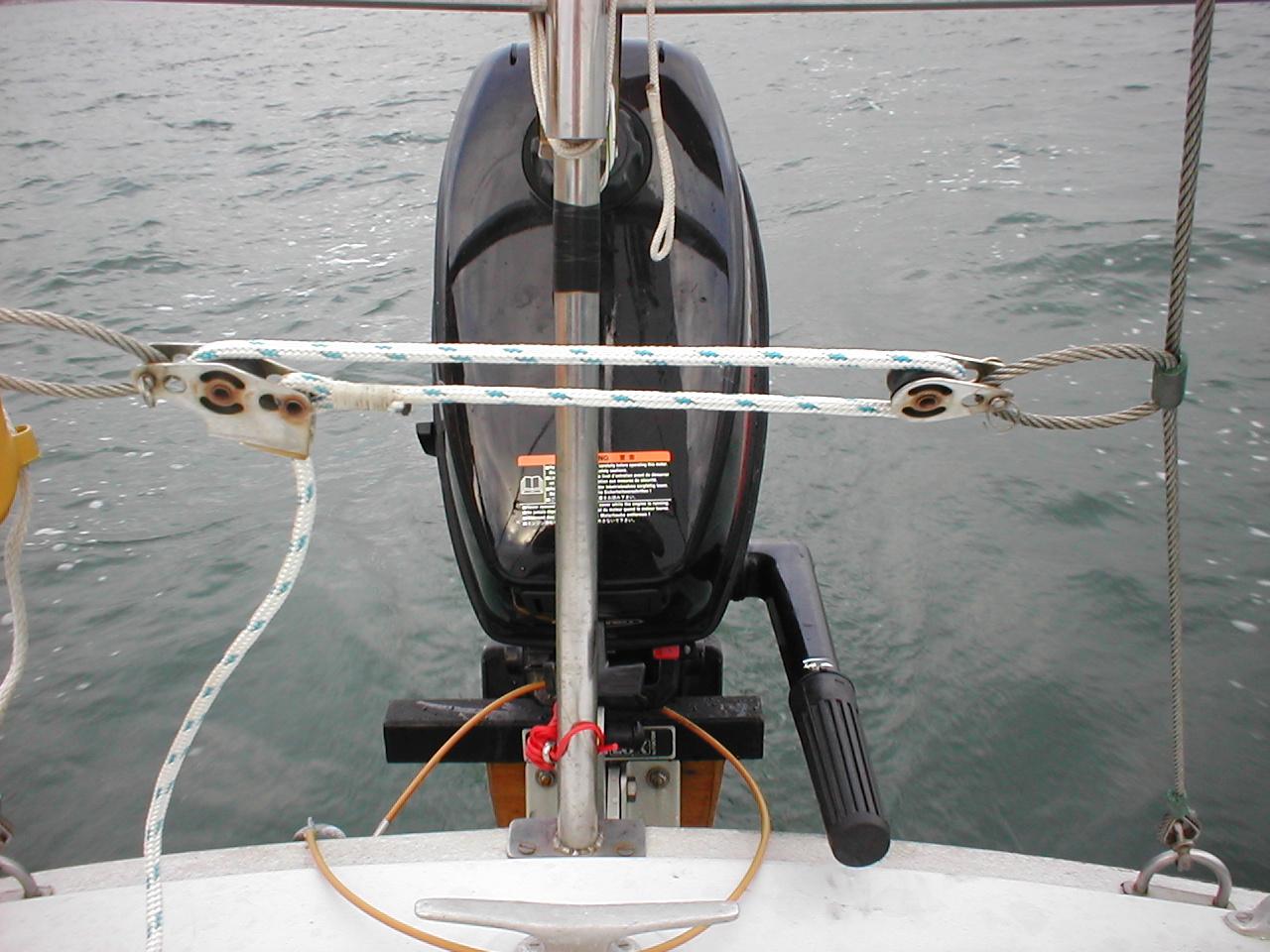 Archimedes Backstay tensioner