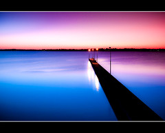 The Como Jetty at dusk (KC Tan Photography) Tags: sunset como landscape dusk jetty timeexposure perth westernaustralia swanriver cokin canningriver neutraldensity gradualfilter comojetty afsdxzoomnikkor1755mmf28gifed nikond300s