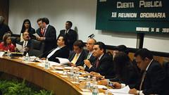 Dip. Luis Videgaray Caso con el Dip. Jess Alberto Cano Vlez y el Dip. Felipe Enrquez Hernndez (DIPUTADOS FEDERALES DEL PRI.) Tags: en de la y cuenta cmara pblica comisin diputados presupuesto