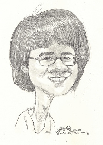 caricature in pencil 13112010 - 2