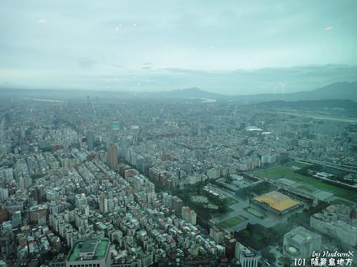 鳥瞰台北市(1)