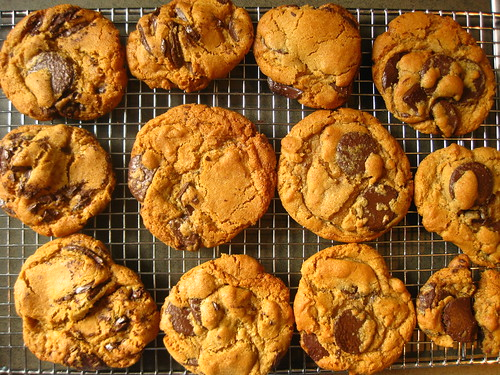 school fete & choc chip cookies