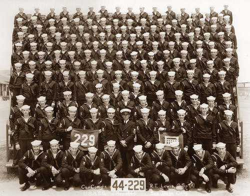 Company 44-229 Naval Training Center, San Diego, California 1944