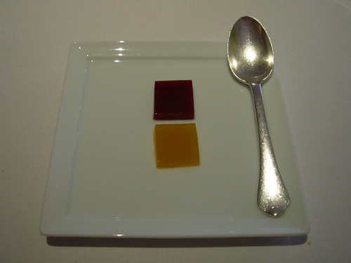 The Fat Duck: Beet and Orange Gels