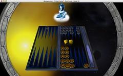 Backgammon - before bear off (5/8)