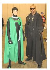 Blade & The Kryptonian (MorpheusBlade) Tags: costumes cosplay blade comicon krypton kryptonian daywalker wizardworldphiladelphia2007 bladevampirekiller bladetheseries