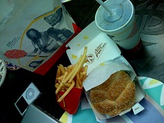 McDonalds Angus third pound burger - by tychay