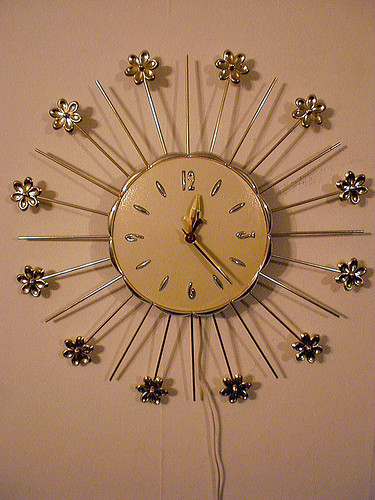 Lux Electric Wall Clock
