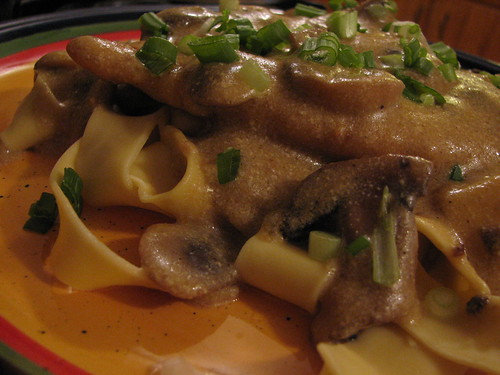 Chicken Scallopini with Mushroom Cream Sauce