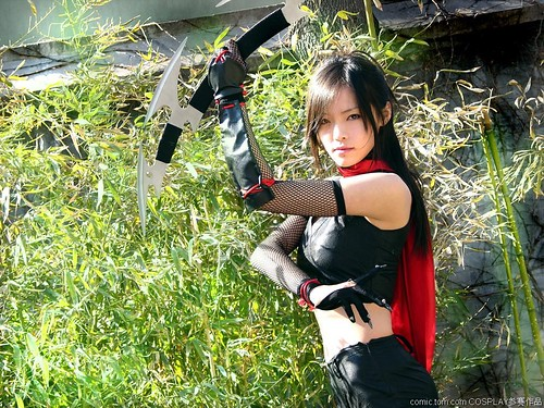 Ninja Girl Cosplay A Photo On Flickriver