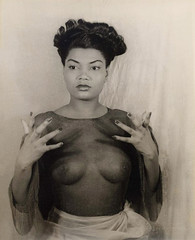 Pearl Bailey, 1946 (carbonated) Tags: ladies bw vintage artist famous 1940s africanamerican actor 1946 pearlbailey carlvanvechten vintagemakeup checkthoseeyebrows