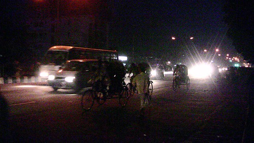Bangladesh Curfew - Rush To Get Home