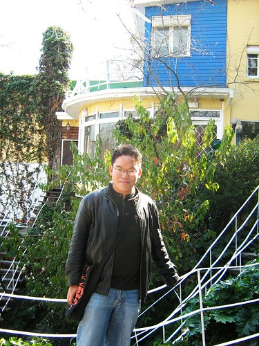 Me at La Chascona, Pablo Neruda's House