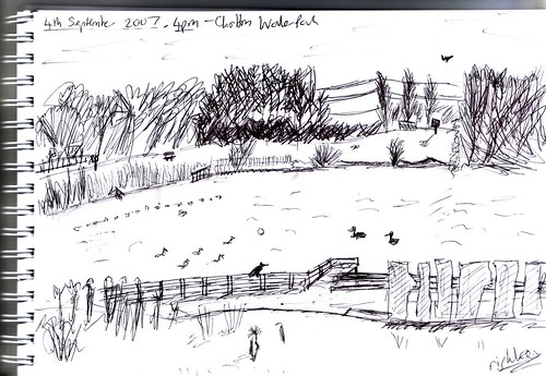 Sketch #1 - Chorlton Water Park