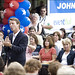 John Edwards makes an Eventful stop
