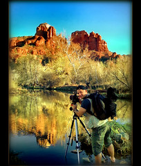 I've been Tagged (CyrusMafi) Tags: camera friends red arizona sky lake water rock canon friendship sedona tagged redrock iphone flickrlovers miasbest