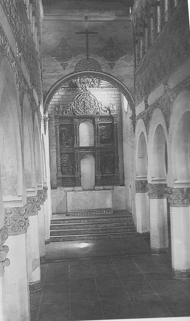 Sinagoga de Santa María la Blanca a inicios del siglo XX. Foto Rodríguez