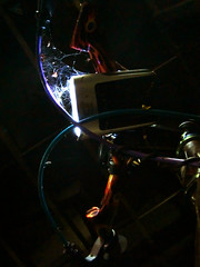 Spider's Web (noz.) Tags: bike japan tokyo spider web mountainbike casio mtb spidersweb exilim jpn tokio byke luvhandle groovycycleworks luvbar exilimg casioexilimg