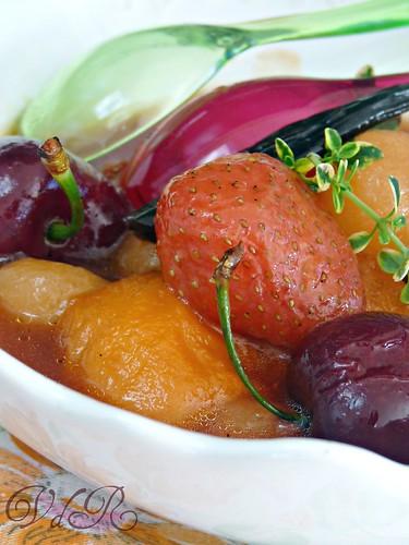 Zuppa di frutta estiva