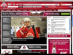 The Ohio State University Athletics Browser Theme