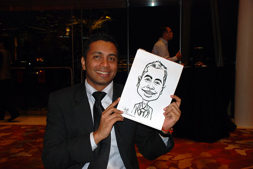 caricature live sketching for 2010 Asia Pacific Tax Symposium and Transfer Pricing Forum (Ernst & Young) - 1