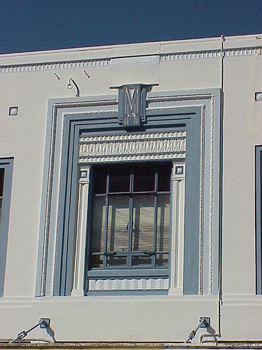 Window, Masson House, Napier