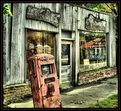 Country Store (K2D2vaca) Tags: reflection shop illinois antique gas pump gaspump funksgrove countrystore centralillinois welcomeall cotcmostfavorited supershot outstandingshots flickrsbest anawesomeshot colorphotoaward superbmasterpiece diamondclassphotographer flickrdiamond k2d2vaca
