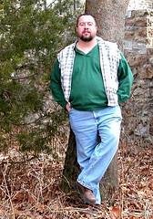 Me at Lockridge park in Alburtis (Smioreun) Tags: bear gay hairy male fuzzy joey homosexual orso ursine