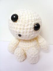 Amigurumi Kodama (halixia) Tags: topf25 topv2222 topf75 topv1111 topc50 crochet topv5555 amigurumi topv3333 kodama princessmononoke studioghibli topv6666 ganchillo