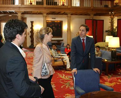 profesores con Rubén Vigil