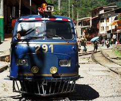 Machu Picchu Train Van