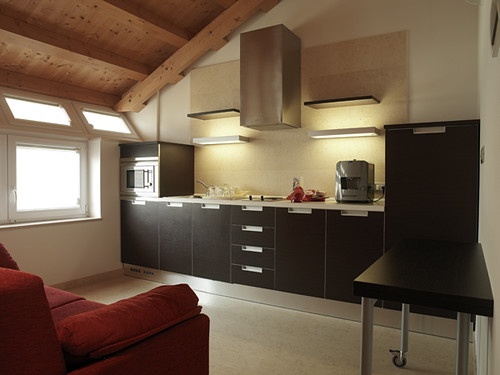 The Al Giardino self catering tourist apartments in Venice, Italy: kitchenette