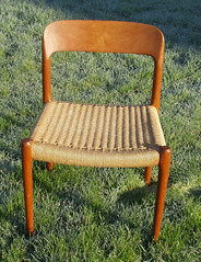 Typical Danish cord chair